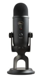 Blue Yeti gaming mikrofon