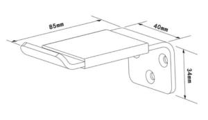 Multibrackets M Headset Holder 3