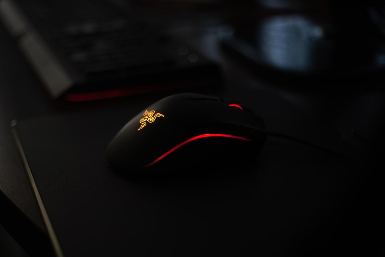 trådløs gamer mus