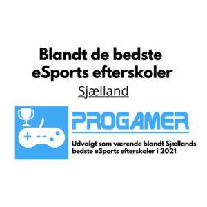 Sjælland - Bedste eSports efterskoler 2021